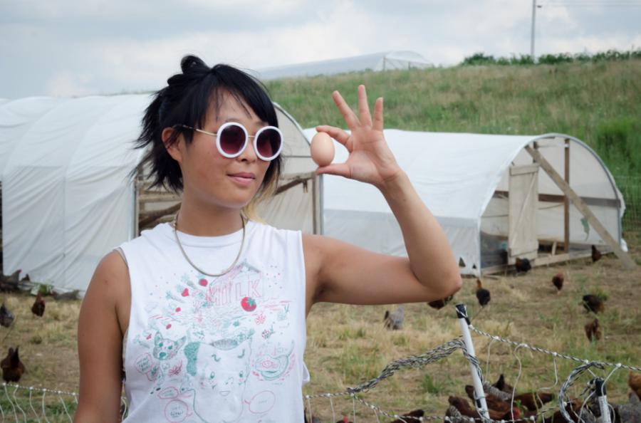 Wen-Jay Ying at Taproot Farm in Pennsylvania. (Source: flickr)