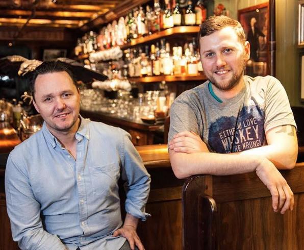 Sean Muldoon and Jack McGarry (Instagram)