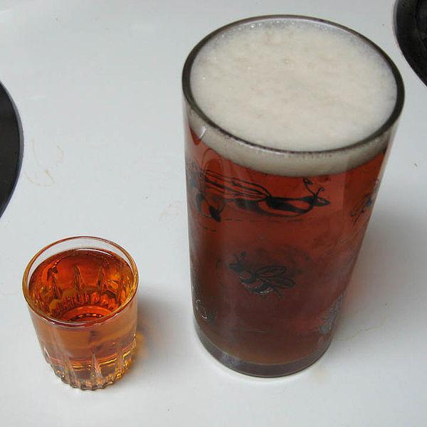 beer & whiskey