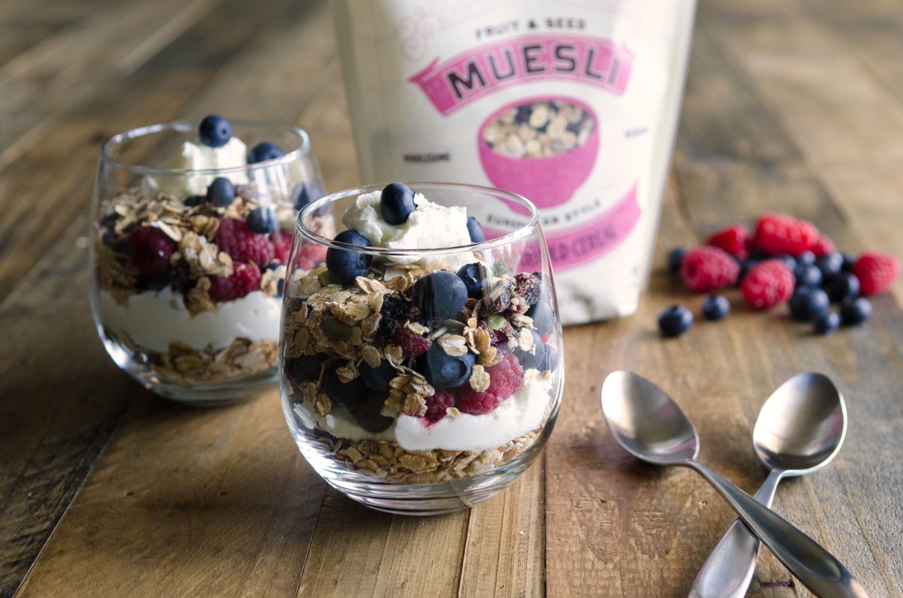 Fruit and Seed Muesli Parfait-1
