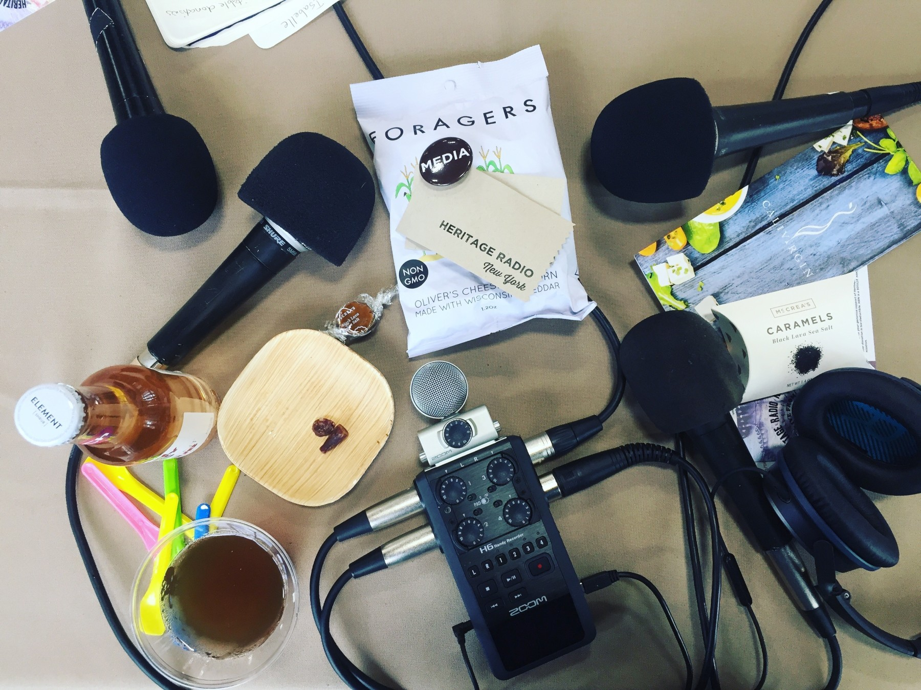 Mics & Snacks at Good Food Mercantile