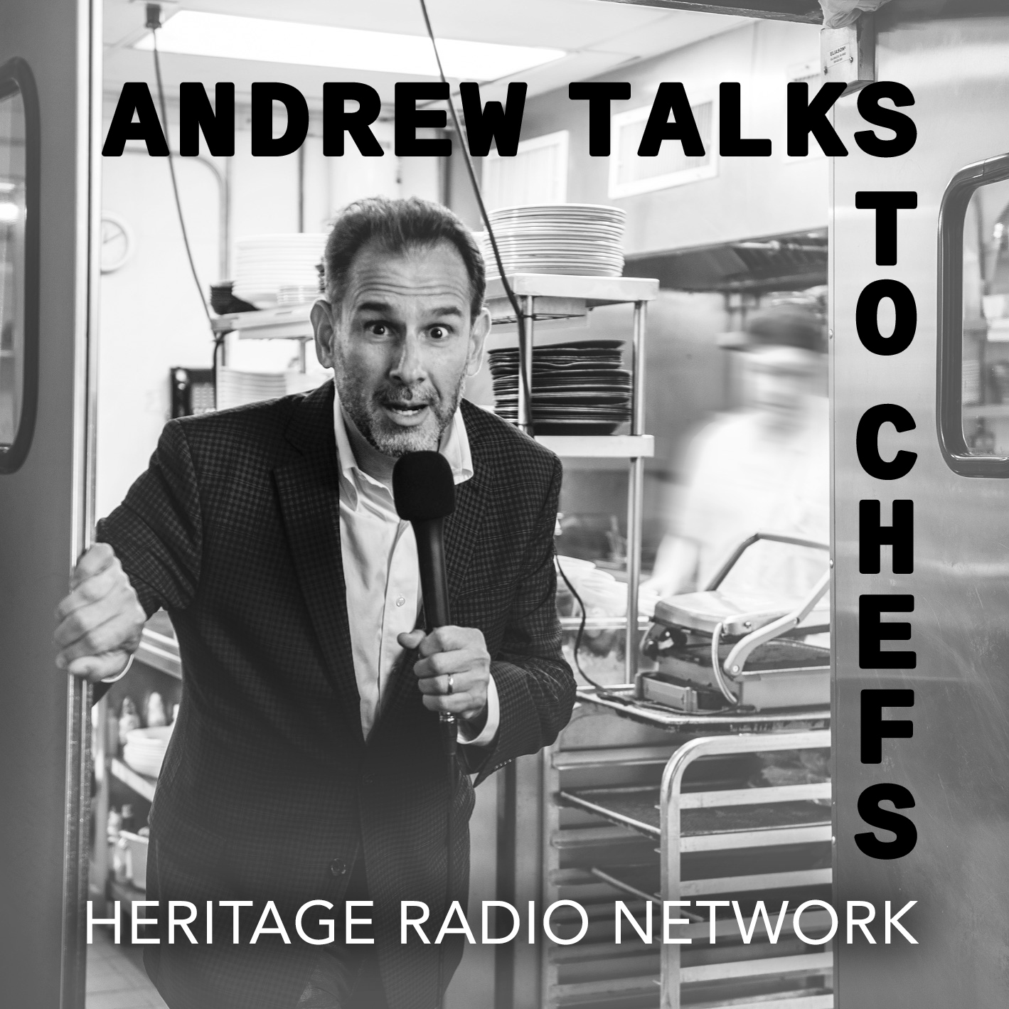 Andrew Talks to Chefs Logo