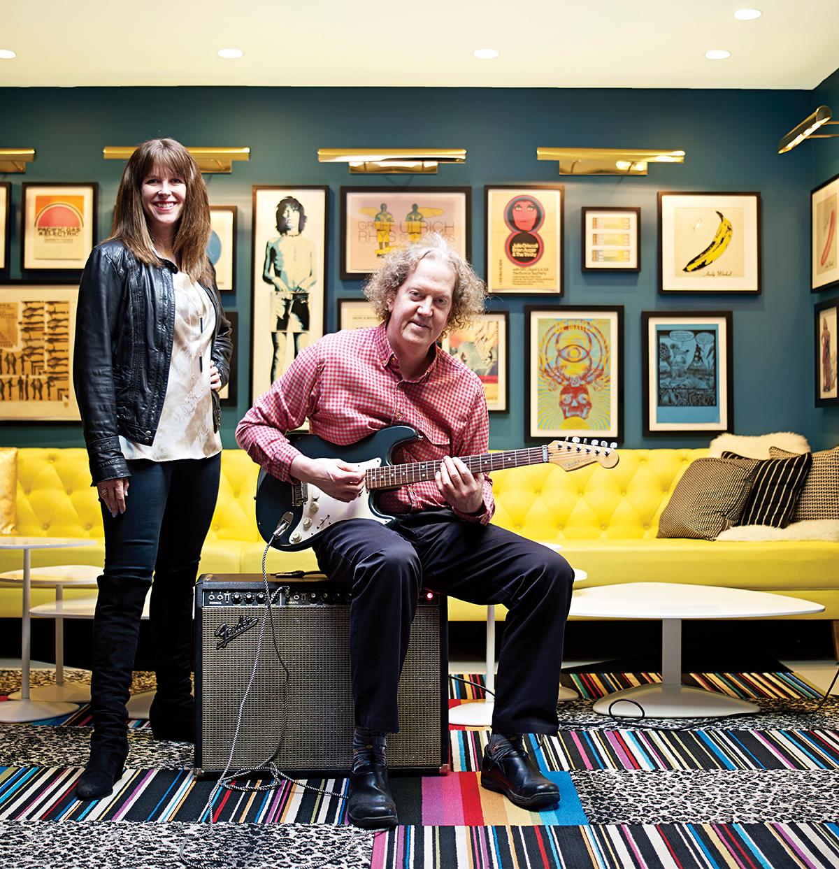 Nancy and Tim Cushman