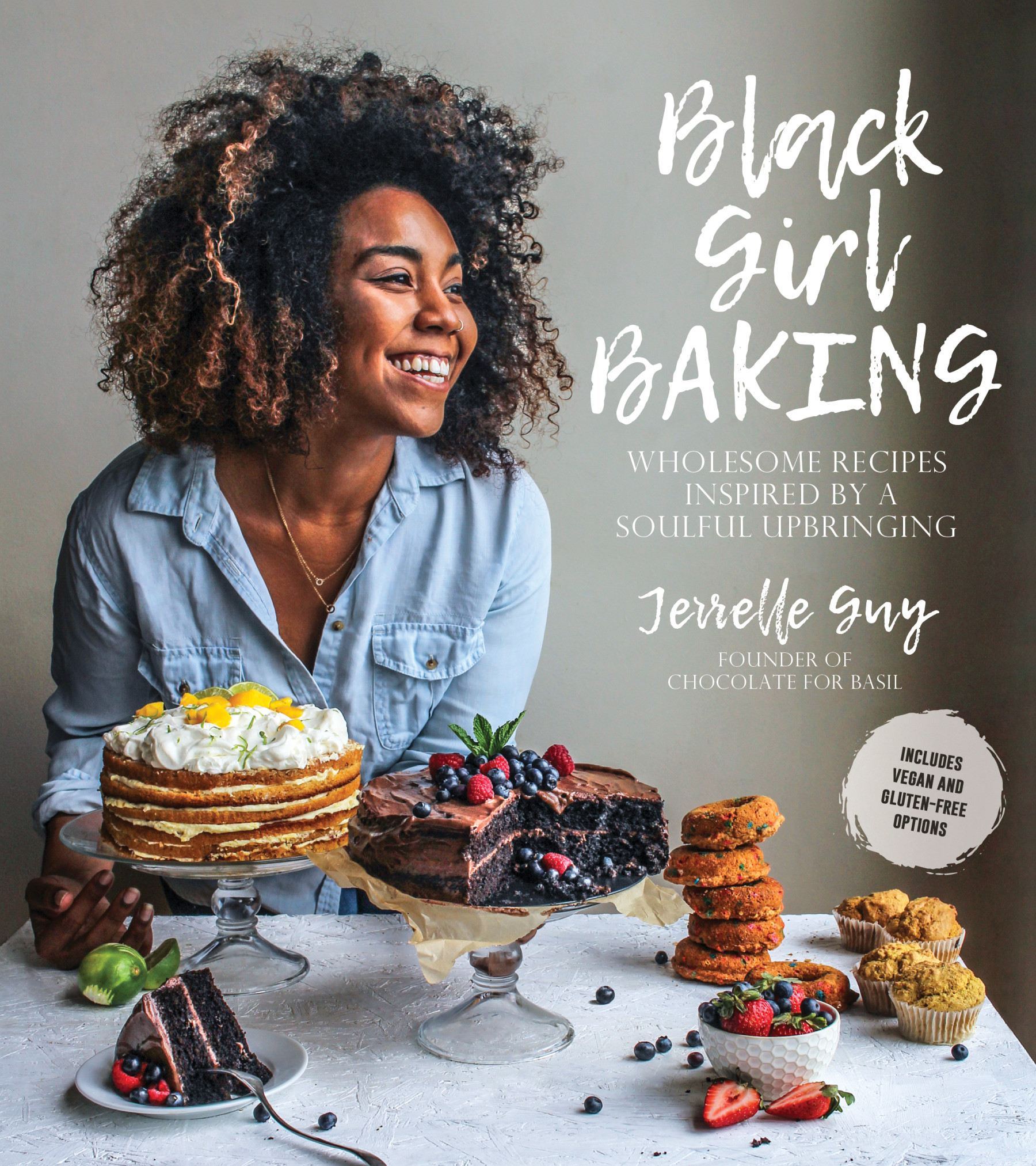 Black Girl Baking Cover - Kerry Diamond