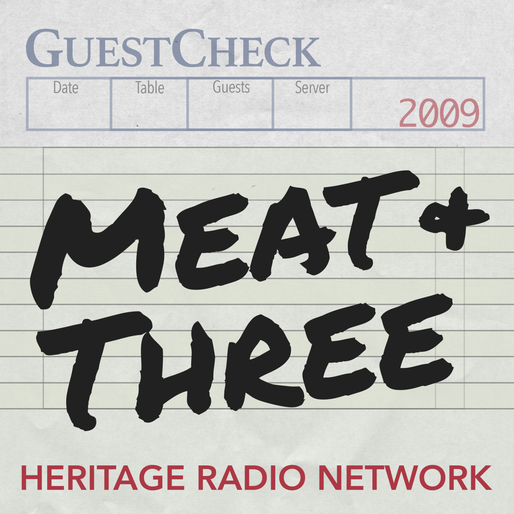Meat & Three Logo