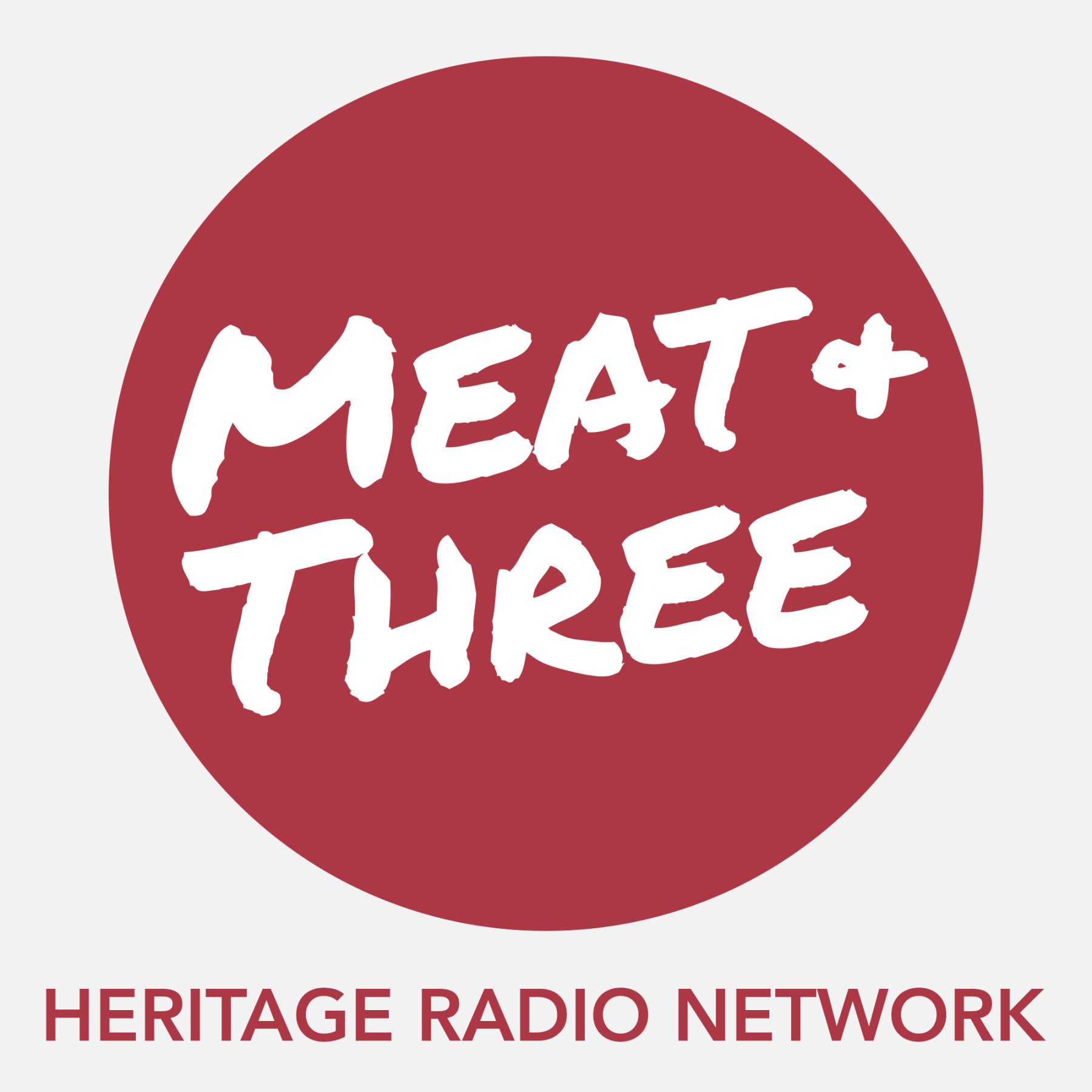 Meat & Three Logo SIMPLE