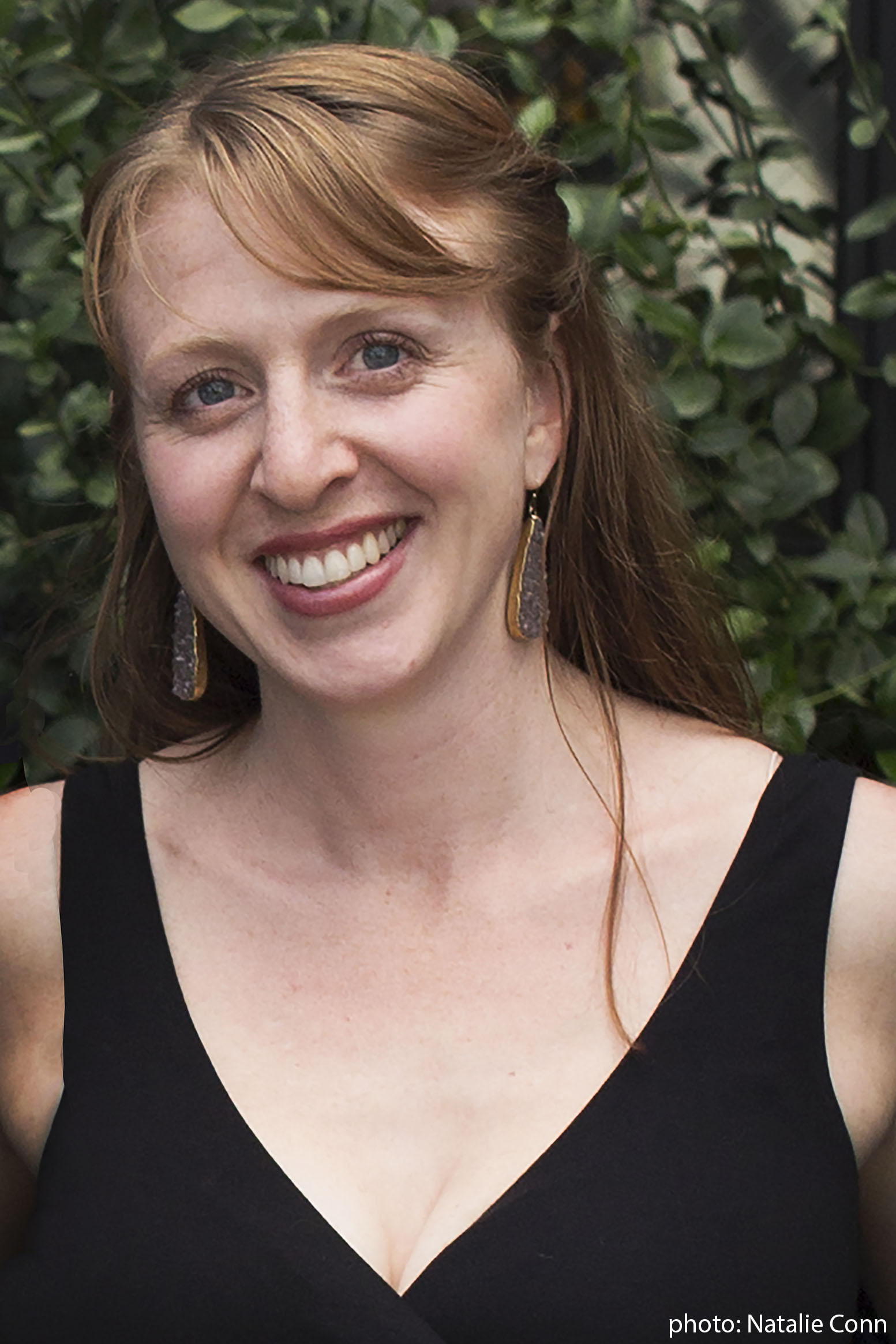 Sara Franklin Author Photo __ Credit Natalie Conn - Lauren Salkeld