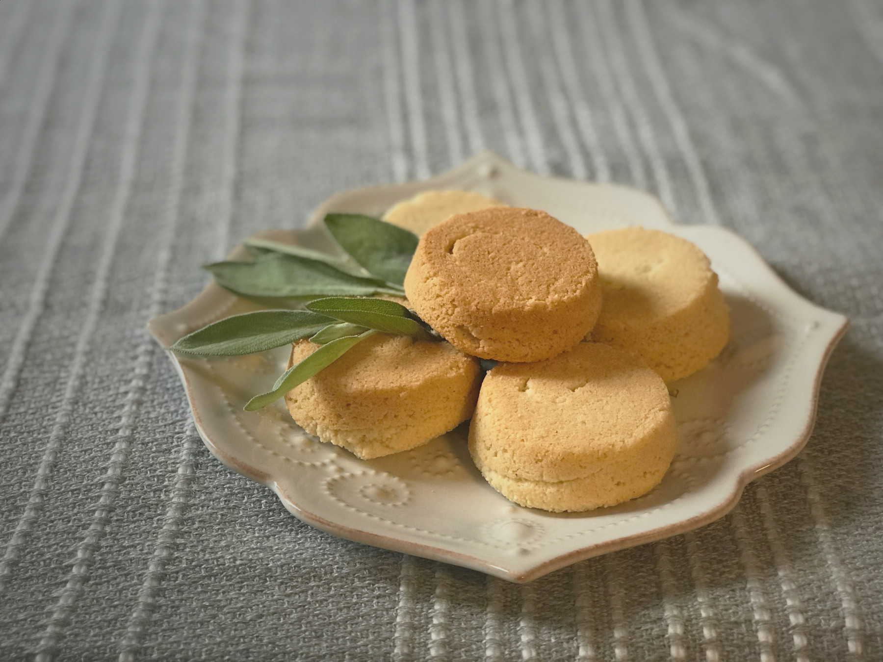 Claudia's Sage Coconut Financiers - Kat Johnson