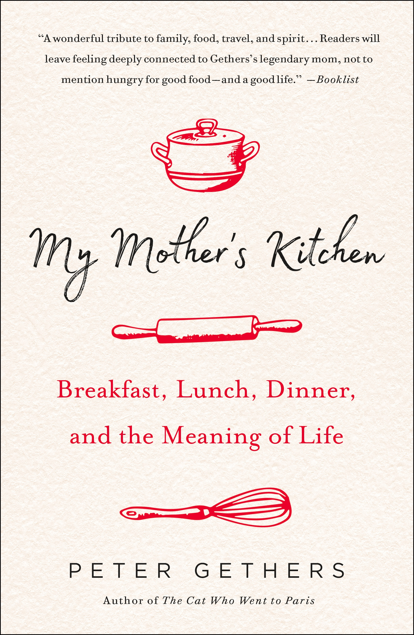 PB Cover. My Mother's Kitchen - Elena Santogade