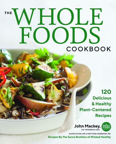 Whole Foods Cookbook cover - Michael Turkell