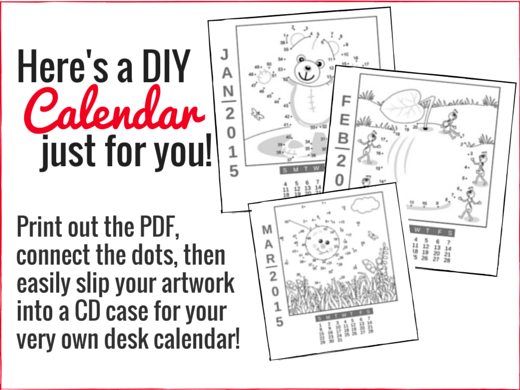 Diy Calendar Homeschool : Diy desk calendar free for homeschoolers homeschool