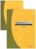 Saxon Math 6/5 Homeschool Complete Kit 3rd Edition