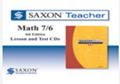 Saxon Math 7/6 Homeschool Saxon Teacher CD-ROM 4th Edition