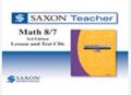 Saxon Math 8/7 Homeschool Saxon Teacher CD-ROM 3rd Edition