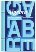 Saxon Algebra 1/2 Kit with Solutions Manual 3rd Edition