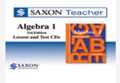 Saxon Algebra 1 Homeschool Teacher CD-ROM Third Edition 2008