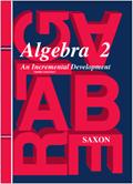 Saxon Algebra 2 Homeschool Kit w/Solutions Manual Third Edition