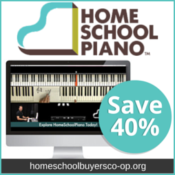 Add beauty to your homeschool curriculum with Home School Piano.