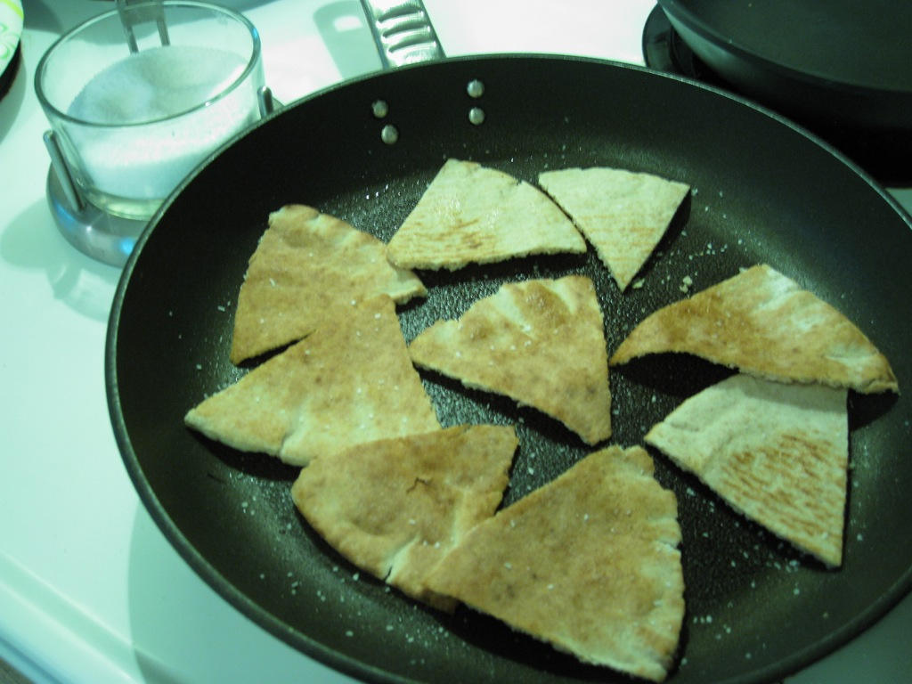 how to make homemade chips in a pan