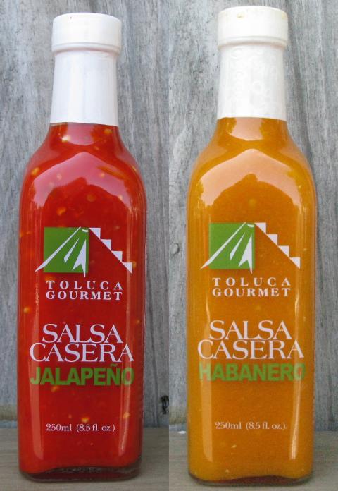 Toluca Jalapeno and Habanero Salsas