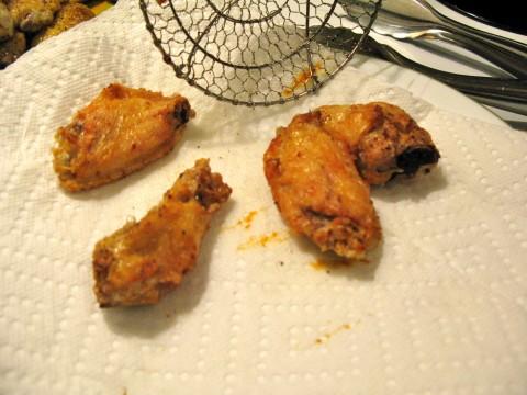 deep fried wings