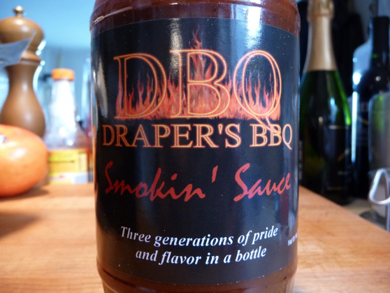 Draper's BBQ Smokin' Sauce and All Purpose Rub