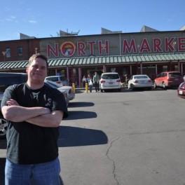 Firehead Thom at North Market