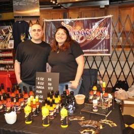 Rick and Maria of DragonFireHotSauce.com