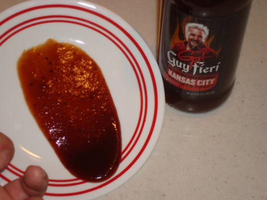Guy Fieri Kansas City Smokey Sweet BBQ Sauce texture
