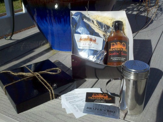Drapers BBQ Gift Set