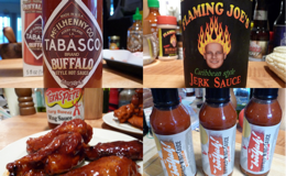 Wing sauce reviews from 2011