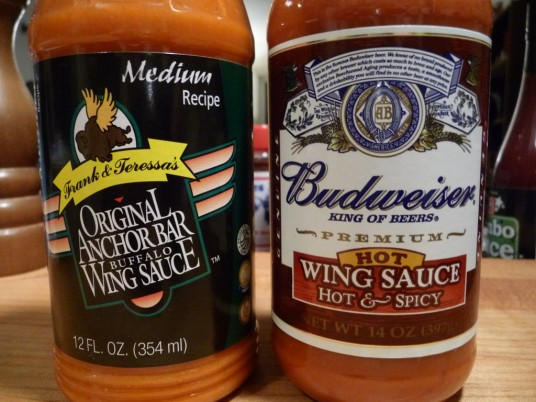 Grocery Store Wing Sauces