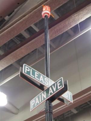 Corner of Pleasure and Pain