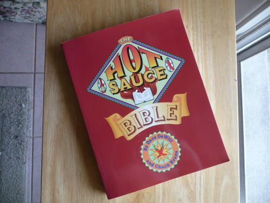 Hot Sauce Bible Original Book
