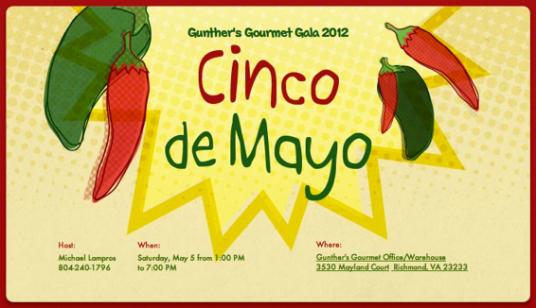 Gunthers Gourmet Gala 2012 Live