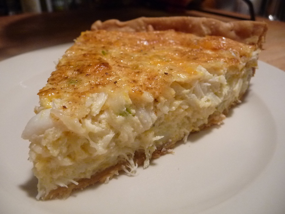 Crab Pie slice