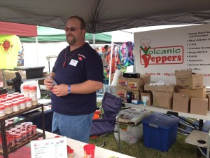 Timothy Bader of Volcanic Peppers
