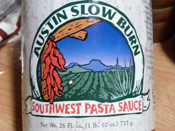 Austin Slow Burn Southwest Pasta Sauce review