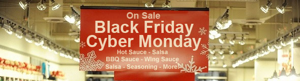 Black Friday Hot Sauce and BBQ Sauce Specials 2012