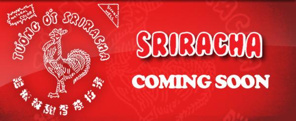 Win a Sriracha Sauce Tee Shirt!