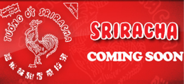 New Sriracha Sauce (Rooster Sauce) Tee Shirts Coming Soon