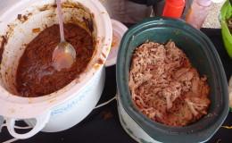 Ropa vieja & pulled pork with Ojeda's