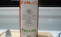Simple label on Pablo's Phoenix