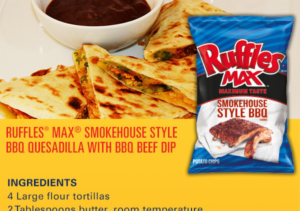 BBQ Quesadilla from Frito-Lay