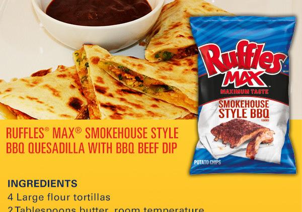 BBQ Quesadilla from Frito-Lay
