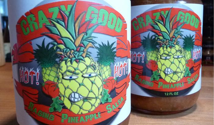 crazy good pineapple salsa