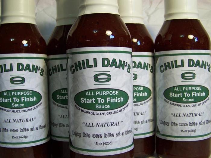 chili dan's all purpose start to finish sauce bottles