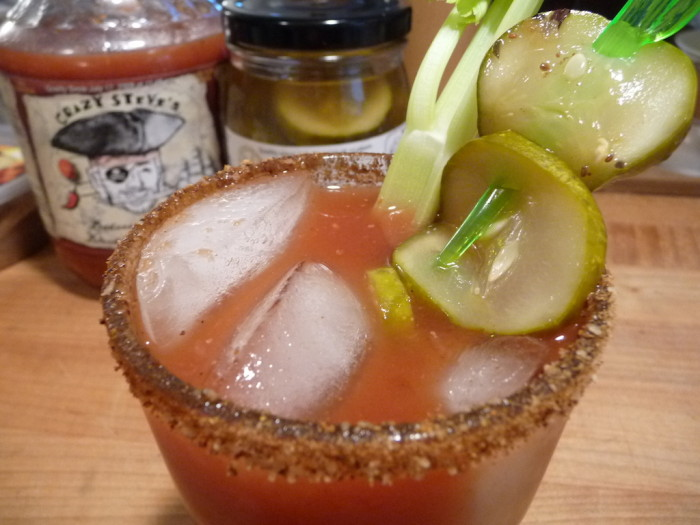 bloody mary with badass barnacle
