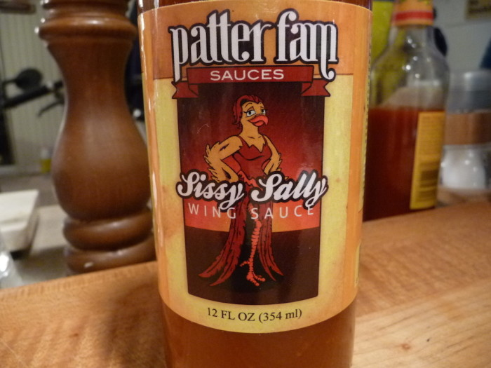 Patter Fam Sauces Sissy Sally Wing Sauce