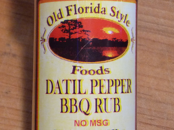 Datil Pepper BBQ Rub Wings from Old Florida Style Foods